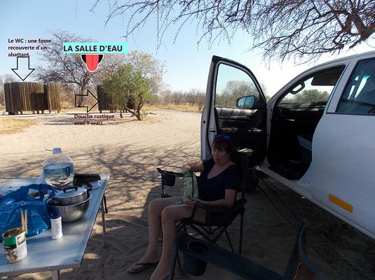 camping ckgr Botswana