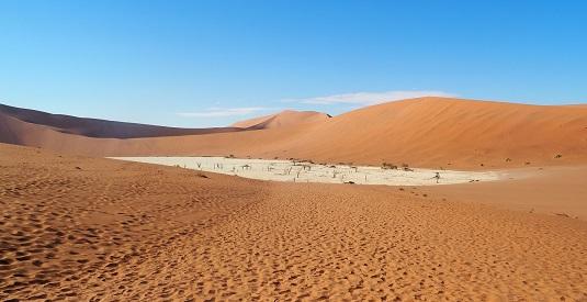 """photo msiafricaroadtrip.com EN NAMIBIE les dunes rouges de Sossusvlei  - le Dead Vlei- Sesriem- Le désert le plus vieux au monde. D'une beauté à """"couper le souffle""""NAMIBIE 2017 - Les Dunes de Sossusvlei 2017 - le Dead Vlei -"""