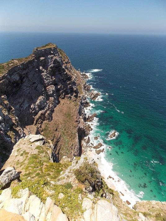 photo cape point au cape de bonne espérance Afrique du Sud.