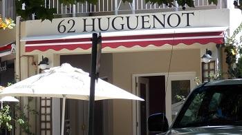 62 huguenot à Francshhoek Afrique du sud