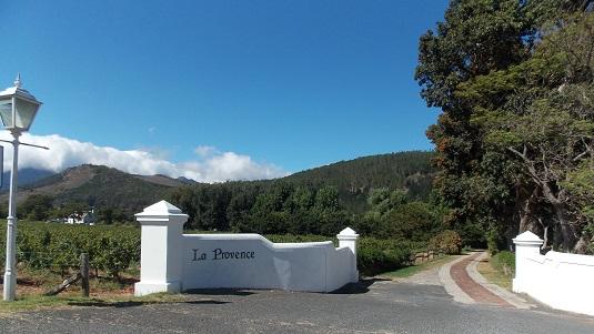 PHOTO domaine la provence à Franschhoek Afrique du sud