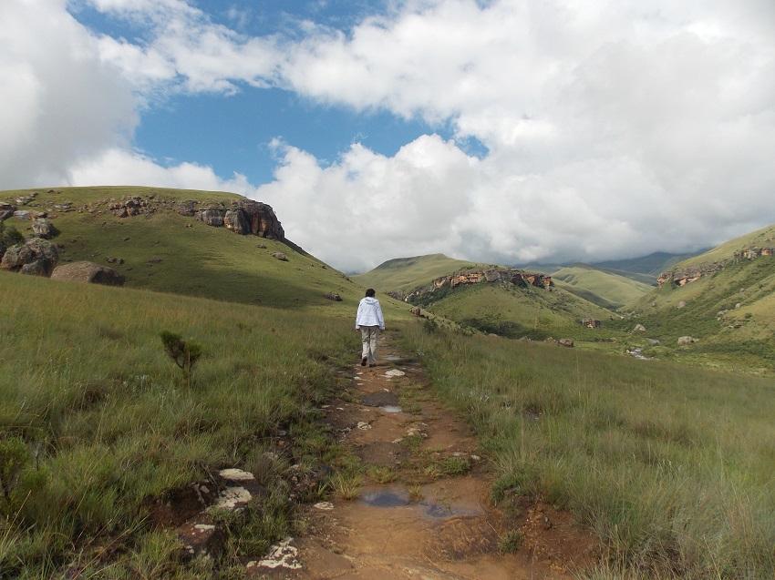 Photo msiafricaroadtrip.com Le park Giant's Castle Afrique du sud. Pour les randonneurs magnifiques montagnes avec des sentiers de randonnées.