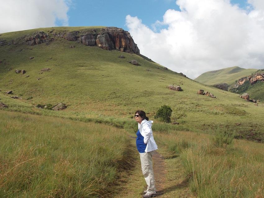 PHOTO MONTAGNE DU Drakensberg Afrique du Sud