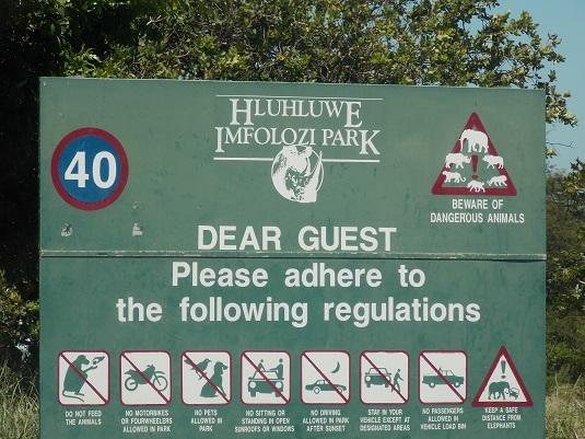 Parc Hlhluwe-Imfolosi Afrique du Sud