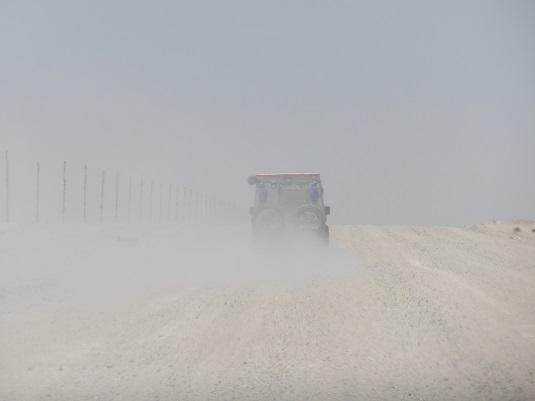 photo : msiafricaroadtrip.com sur la route de Madisa à Cape Cross Walvis Bay en Namibie.