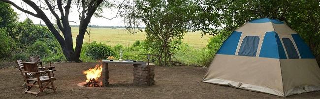 Source photo :  Muchenje Campsite & Cottages campsite Botswana