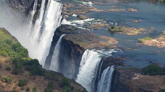 photo msiafricaroadtrip.com les chutes Victoria le Zimbabwe.