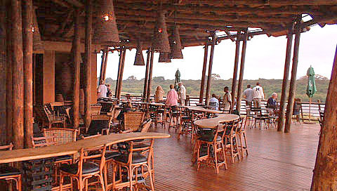 "restaurant du campement ""LOWER SABIE"" le Kruger Afrique du Sud"