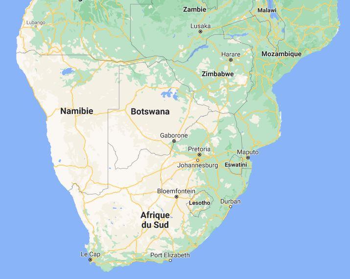 En beige : le désert du Kalahari au Botswana, Namibie et Afrique du Sud. Msiafricaroadtrip.com